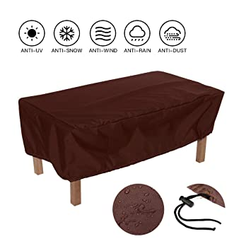Amazon.com: SUNDUXY - Juego de fundas para muebles de patio ...