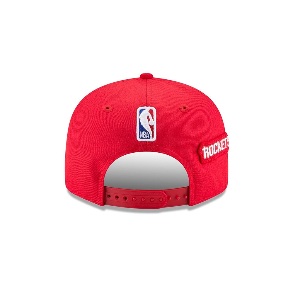 sale retailer 05663 ad6a4 Amazon.com   New Era Houston Rockets 2018 NBA Draft Cap 9FIFTY Snapback  Adjustable Hat- Red   Sports   Outdoors