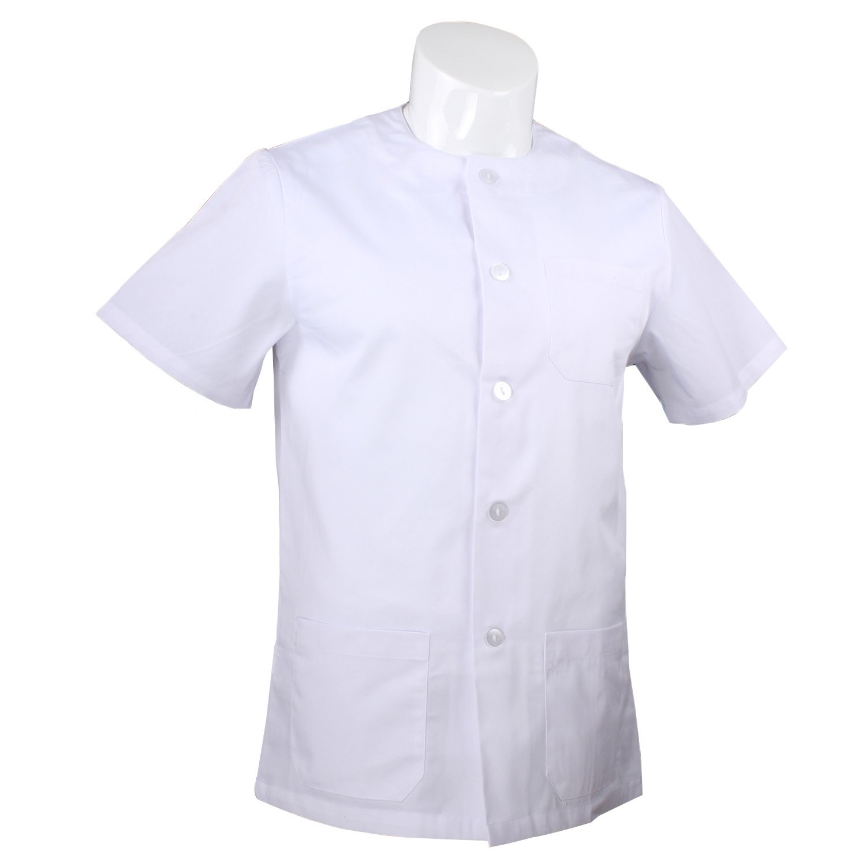 MISEMIYA Abbigliamento Lavoro Signore Collo Tondo Maniche Corte Uniforme Clinica Ospedale Pulizia Veterinario IGIENE OSPITALIT/Á Ref 832
