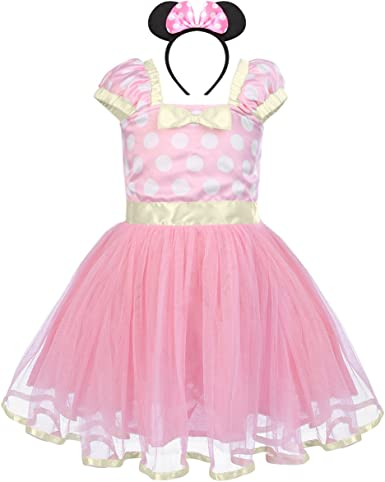Toddler Baby Kid Girls Cartoon Fancy Costume Dress Outfits for Carnival Birthday