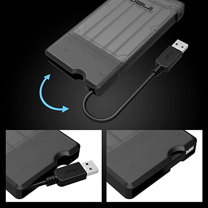 Amazon.com: US 2573 2578 4SKU - Carcasa para disco SATA a ...