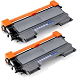 Office World Compatible Toner Cartridge Replacement for TN450 (Black, 2-Packs),Compatible with HL-2270DW HL-2280DW HL-2230 HL-2240D HL-2240 MFC-7860DW MFC-7360N MFC-7460DN DCP-7065DN