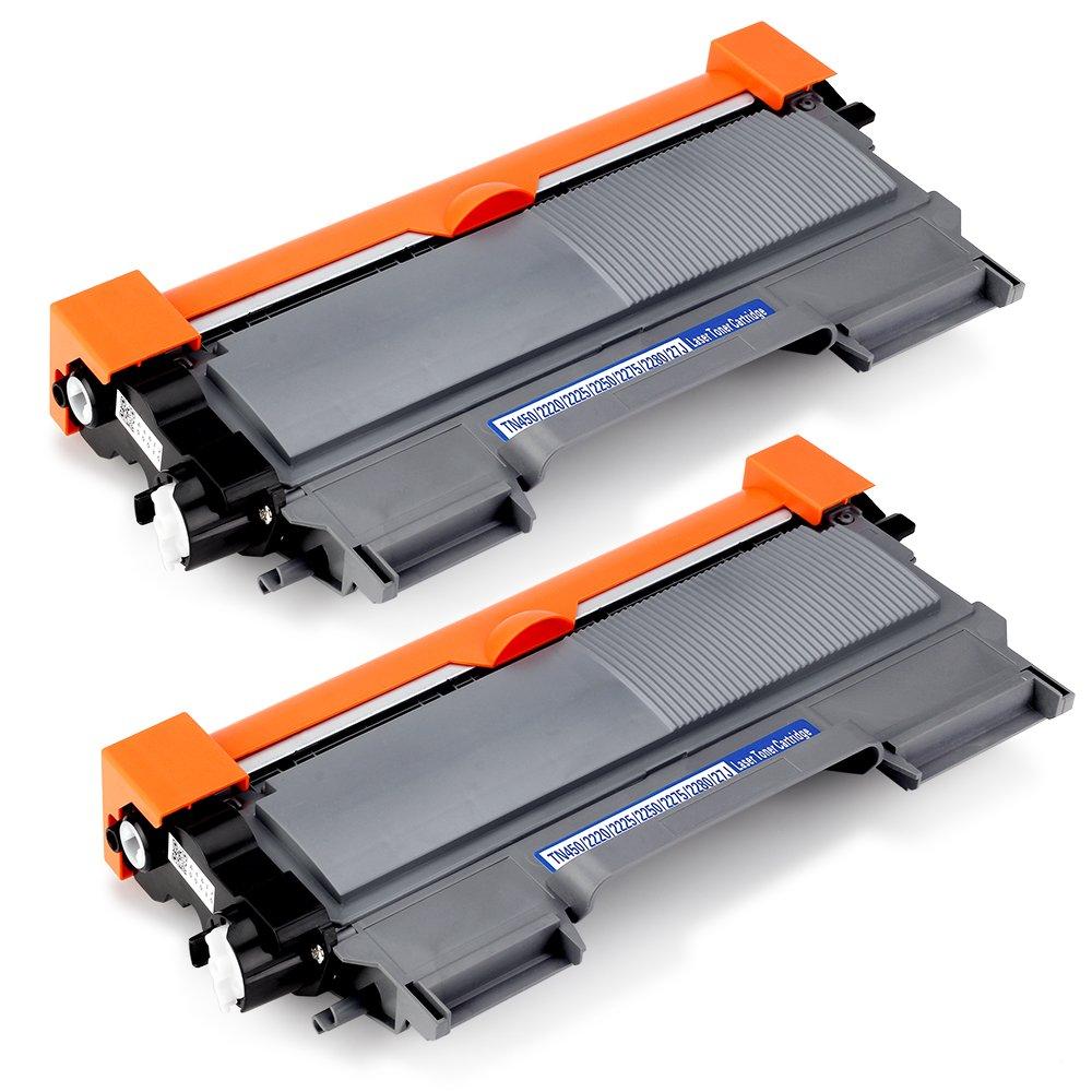 Office World Compatible Toner Cartridge Replacement for Brother TN450 TN-450 TN 450 TN420 TN-420,Compatible with Brother HL-2270DW HL-2280DW HL-2230 HL-2240D HL-2240 MFC-7860DW MFC-7360N MFC-7460D