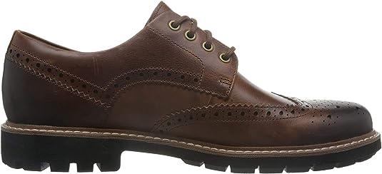 TALLA 44 EU. Clarks Batcombe Wing, Zapatos de Cordones Derby para Hombre