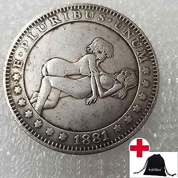 Amazon.com: NiuChong 1881 - Moneda de níquel de Hobo para ...