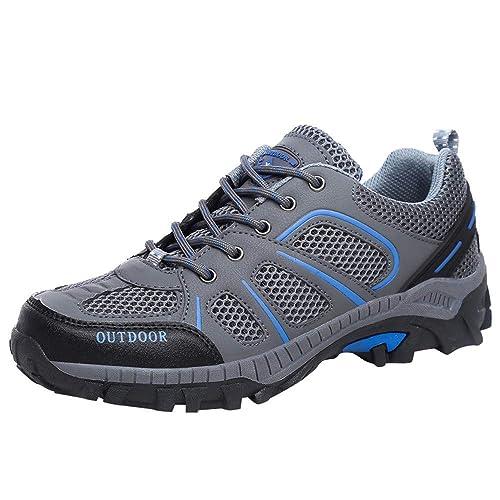 Cinnamou Zapatos de Cordones para Mujer de Tacón, Transpirables Mocasines Running para Mujer Gimnasia Ligero Sneakers: Amazon.es: Zapatos y complementos