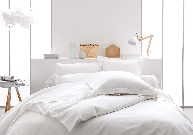 TODAY Sábana Bajera-90x190 cm Color Blanco, 100% algodón, 190x90x0.1 cm