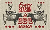 Toland Home Garden 800413 BBQ Season Doormat, 18'' x 30'', Multicolor