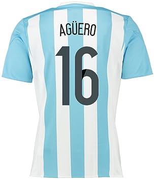 Adidas Boutique Soccer DMF Camiseta de Argentina Aguero de 2015 y 2016 Talla:XXL: Amazon.es: Deportes y aire libre