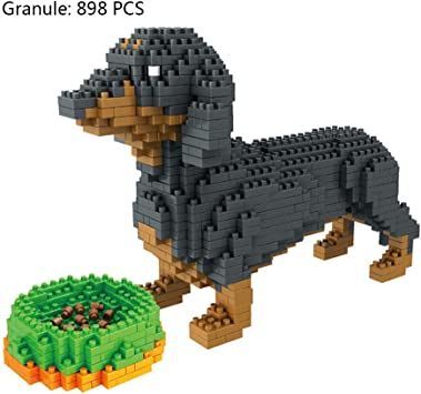 ** FREE S//H Animal Planet PUPPY HOUSE Building Blocks ** 21 pieces ** ages 5
