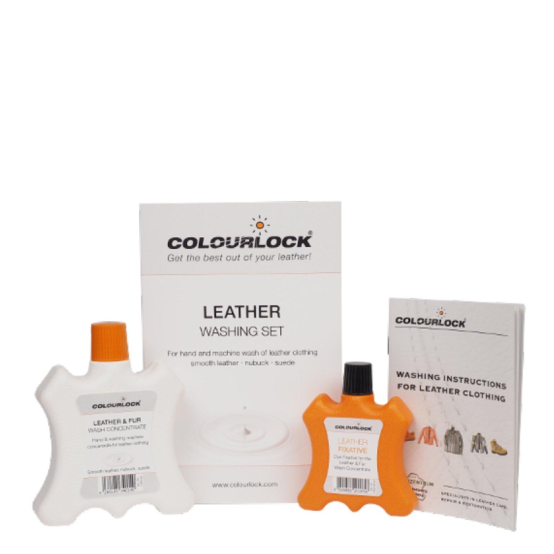 COLOURLOCK Kit Lavado Ropa Cuero/Piel, Leder-Fein Lava la Ropa de ...