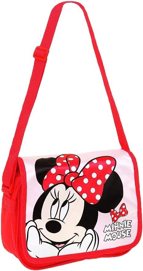 Filles 438706B Rouge Sac Bandoulière Par Disney Solde Maintenant Minnie Mouse