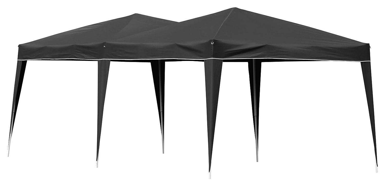 Justus Zubehör, Partyzelt, schwarz, 3x6x9 cm, 1310 85
