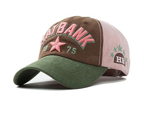 Gorra de Béisbol Liso Mujer Sombrero de Hombre Nuevo Ajustable Cap ...