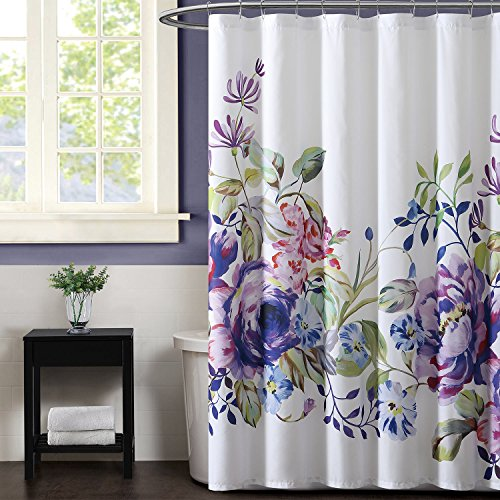 Christian Siriano Shower Curtain, Garden Bloom