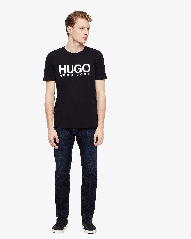 6d63131ab HUGO Men's Dolive T-Shirt: Amazon.co.uk: Clothing