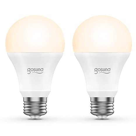 Smart Led Lampe 2er Pack Gosund Wlan Mehrfarbige Dimmbare Led