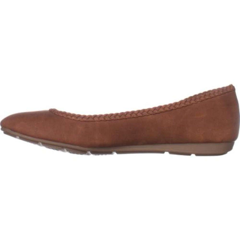 Style & Co. Womens ciaraa Almond Toe Ballet Flats, Brown/Cedar, Size 6.5