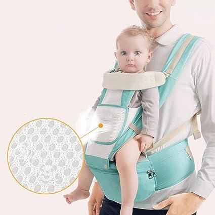 Ajustable 4 Posiciones Portador 3D Mochila Envoltura Estructura Suave Sling ergonómico Frente Volver Bebé recién Nacido