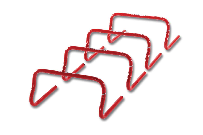 Kwik Goal Speed Hurdles (Red, 9-Inch) by Kwik Goal