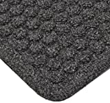 Notrax 150 Aqua Trap Entrance Mat, for Main Entranceways and Heavy Traffic Areas, 3' Width x 10' Length x 3/8'' Thickness, Charcoal