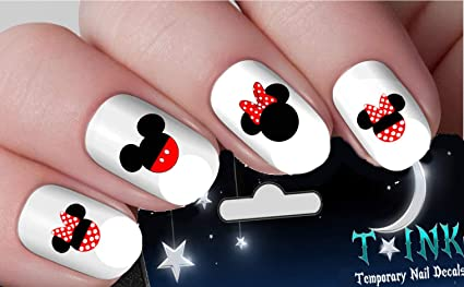 Image Unavailable. Image not available for. Color: Minnie Mouse Nail Art ... - Amazon.com: Minnie Mouse Nail Art Waterslide Decals Assortment
