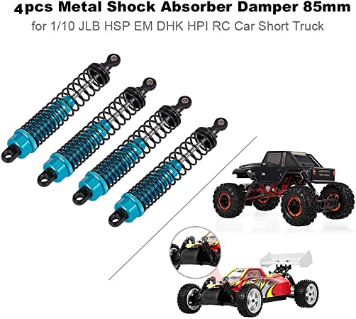1Pair Shock Absorber Crawler Accessory 100mm Damper For 1//10 RC HSP RC Parts toy