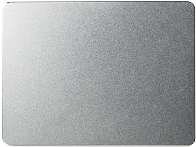 DNZMJRD Mouse Pad Metal Panel Edging Office Supplies Home Student Game Non-Slip Mouse Pad Table Mat 240X180X3mm