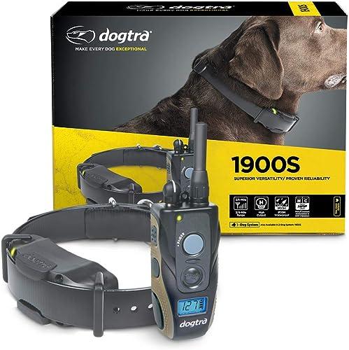Dogtra 1900S Ergonomic 3 4-Mile IPX9K Waterproof High-Output Remote Dog Training E-Collar