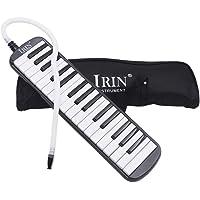 Jullynice Irin 32 Keys Melodica Children Students Musical Instrument Harmonica Blowpipe Mouth Organ Portable Harmonica Pianica