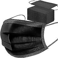 50 stuks, verstelbare oorbellen voor wegwerp mondmasker, drielaags non-woven beschermend filteroppervlak, stofdicht…