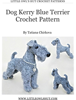 Free Crochet Yorkie Dog Patterns | The WHOot | 320x244