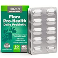 Probiotics for Women and Men on The Go – Flora Pro-Health, High Strength Probiotic...