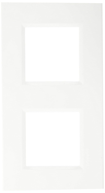 bticino 448148022 placa doble Horizontal Eltra N.V