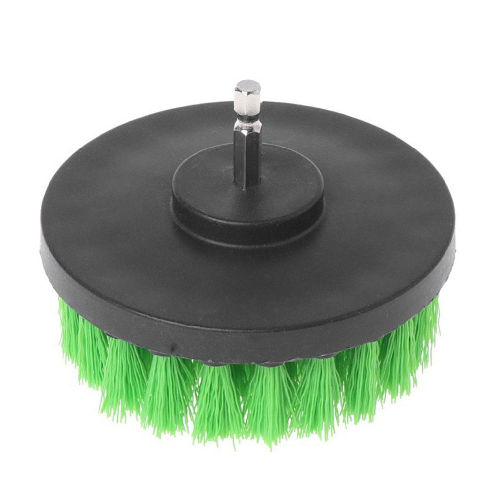 1Pcs - 3Pcs Drill Brush Kit, Grout Power Scrubber Cleaning Brush Tub Cleaner Combo Tool Kit (C)