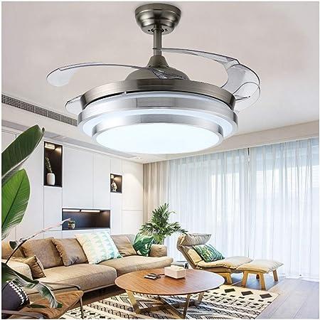 H.L - Lámpara LED para Ventilador de Techo (42 Pulgadas, acrílico ...