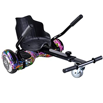 Skateflash Pack Hoverboard K6+Colorful + HOVERKART: Amazon ...