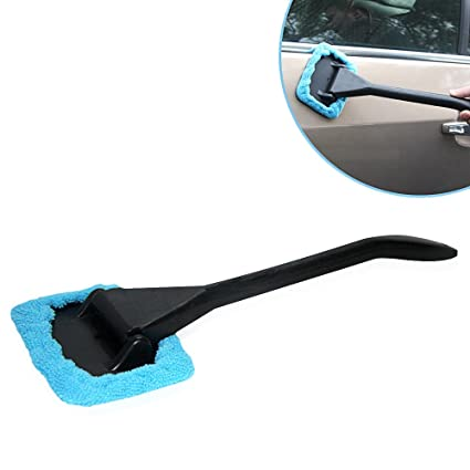 Car Wash Cleaning Brush Car Accessories Windshield Cleaning Brush Tool Auto Cars Glass Cleaner Accessories Glass Washing Tool Sponges, Cloths & Brushes Car Wash & Maintenance