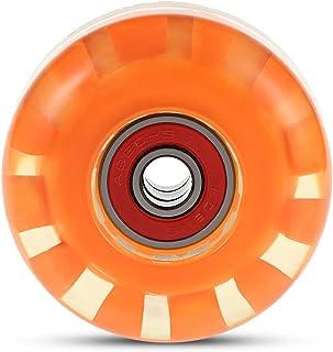 zhang-hongjun,Quatre Roues de Planche à roulettes pour Olipunk et Jumping(Color:Orange)