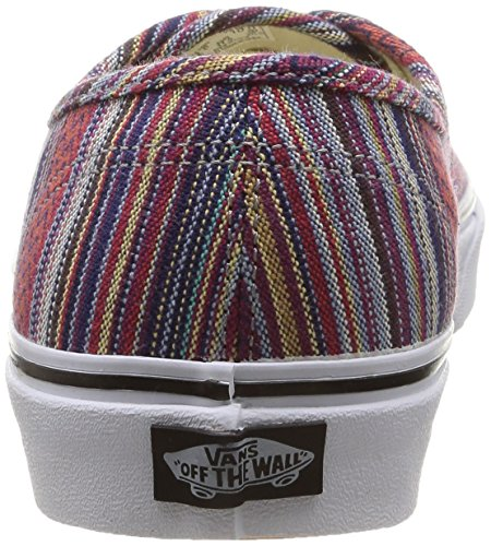 Vans Authentic Herren Skateboardschuhe Schwarz / Multi