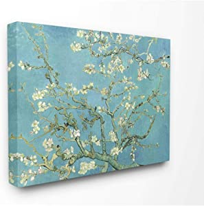 Stupell Industries Van Gogh Almond Blossoms Post Impressionist Painting Canvas Wall Art, 16 x 20, Multi-Color