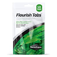 Seachem Flourish Tabs Growth Supplement - Aquatic Plant Stimulant 10 ct