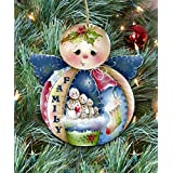 Christmas ornaments - Wooden Christmas Tree Ornaments - Christmas Decorations for Holiday by Jamie Mills-Price 8457504