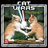 Cat Wars 2018 Wall Calendar (CA0115)