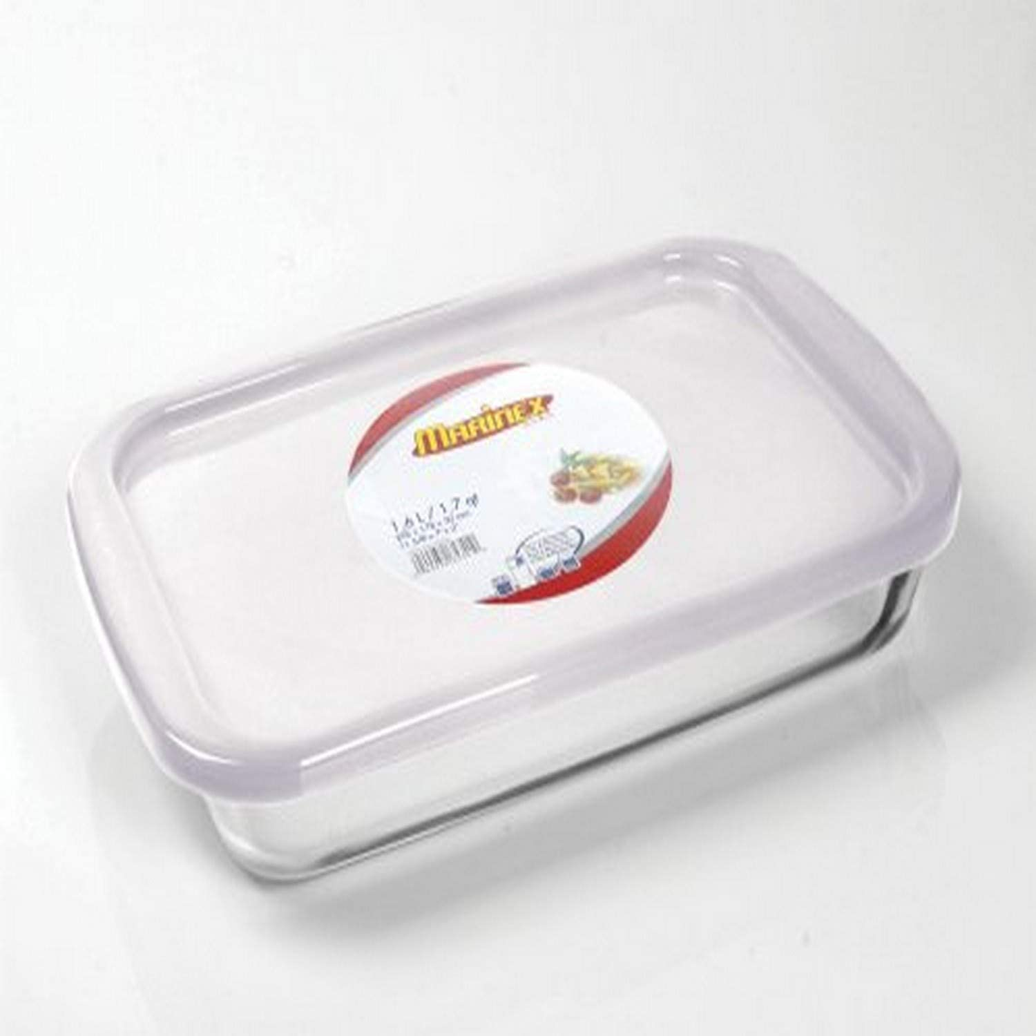 Marinex Bakeware Medium Rectangular Glass Roaster With Plastic Lid 13 5 8 X 8 1 8 X 2 Amazon Co Uk Kitchen Home
