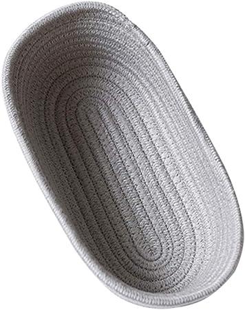Small Beige Panier /à Jouets pour Chambre denfant D/écor Esoes Panier de Rangement Pliable en Corde de Coton pour b/éb/é Panier /à Linge Couverture