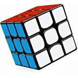 FAVNIC スピードキューブ 3x3【6面完成攻略書付き】 立体パズル 最新ver2.1 世界基準配色 ポップ防止 回転スムーズ 競技専用 ストレス解消 大人 子供 おもちゃ パズルスタンドつき (3x3x3)