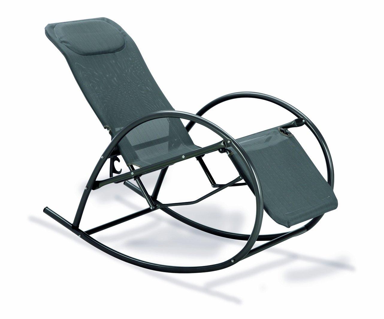 BEST 38470050 Relax-Schaukelstuhl Ancona, anthrazit günstig kaufen