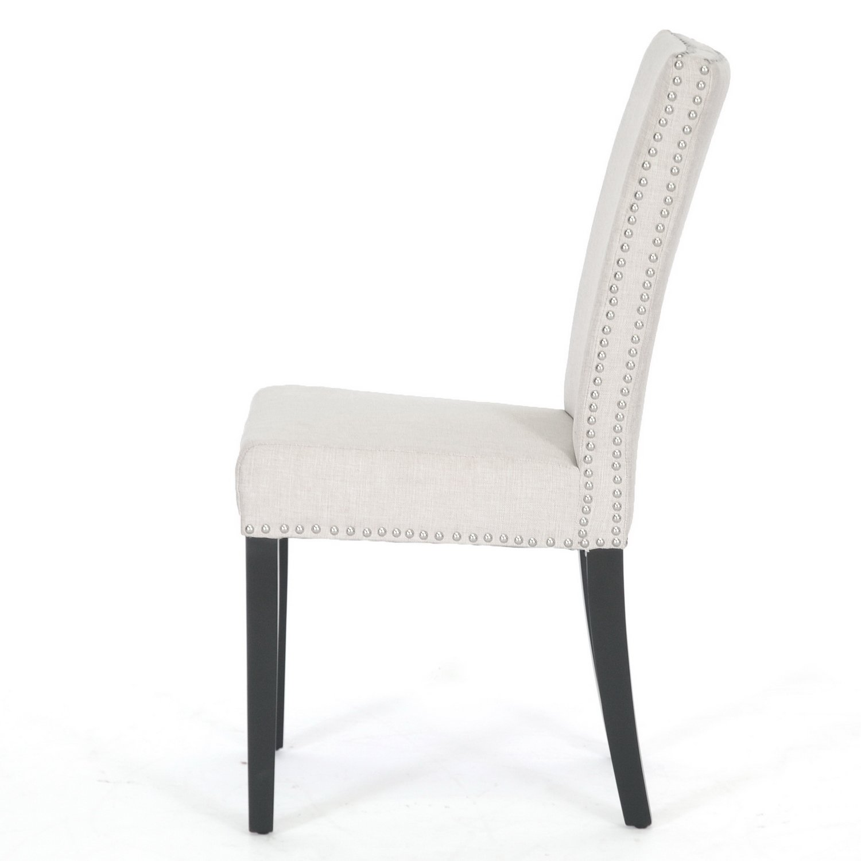 amazoncom  baxton studio harrowgate linen modern dining chair  - amazoncom  baxton studio harrowgate linen modern dining chair beige setof   chairs