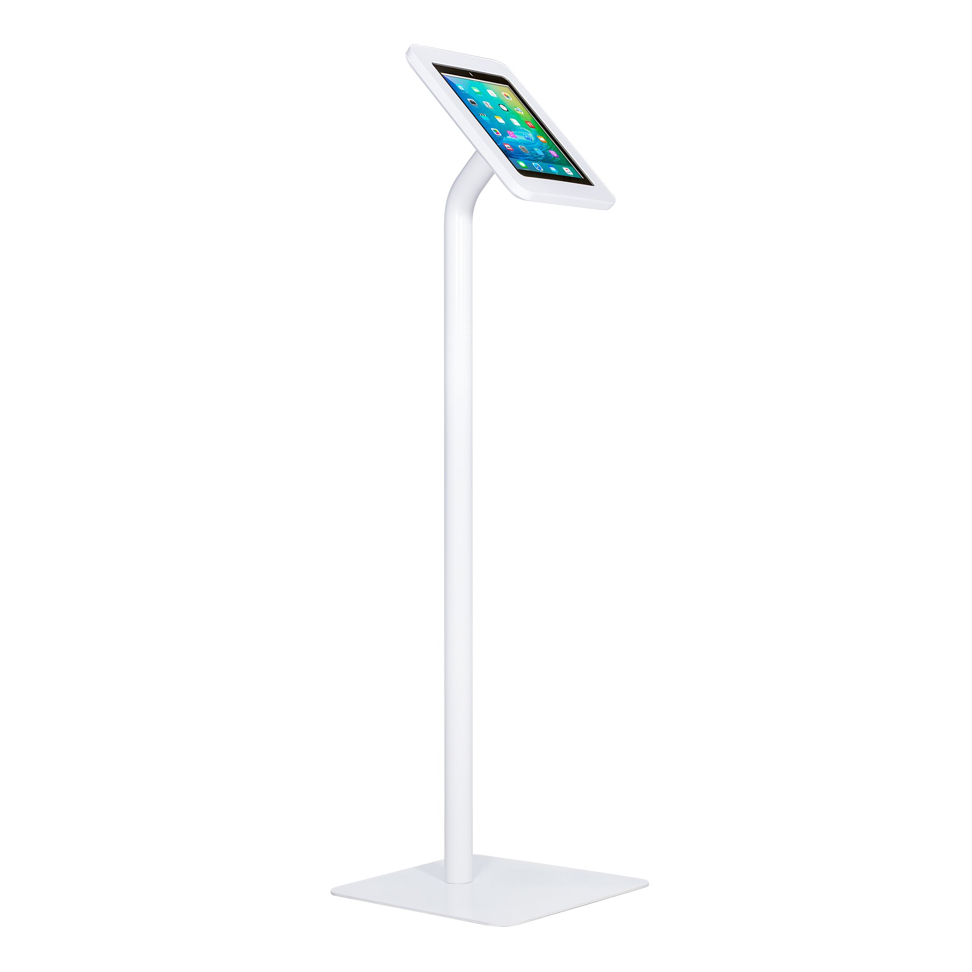 The Joy Factory Elevate II Floor Stand Retail Kiosk for iPad 9.7 (2017) and iPad Air (KAA101W)